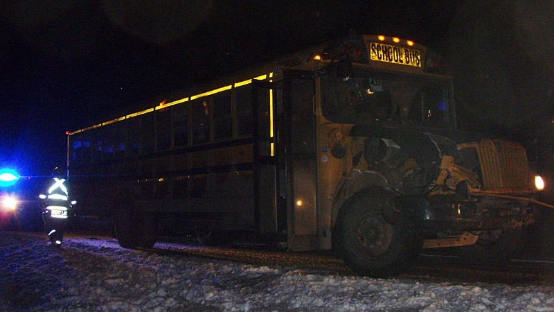 Smoky Lake, bus crash