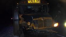 Smoky Lake, bus crash