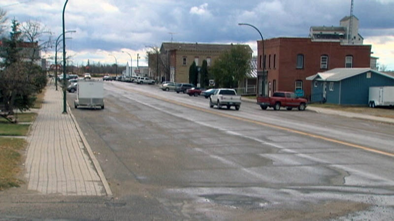 Reston, Manitoba's current population is about 500, but is starting to grow with record land sales.