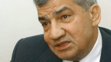 Syrian opposition member Riad Seif