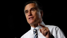 Mitt Romney campaigns ahead of U.S. election