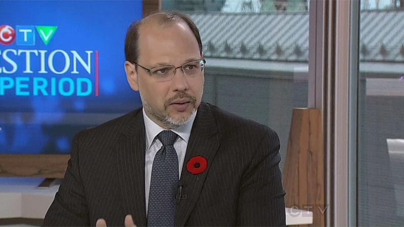 Correctional Investigator for Canada Howard Sapers on CTV's Question Period, Nov. 4, 2012. (CTV/QP)