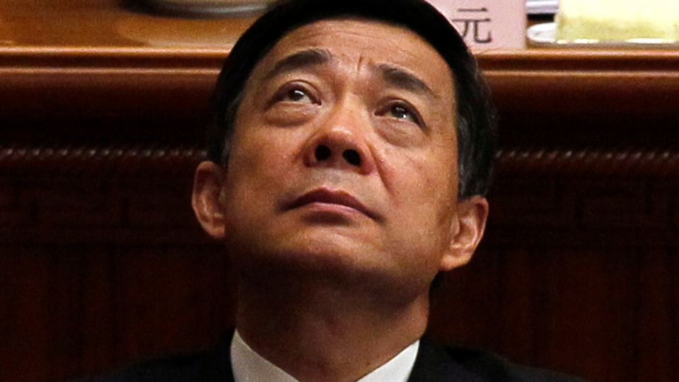 Bo Xilai, Chongqing party secretary, attends the closing session of the annual National People's Congress in the Great Hall of the People, in Beijing, March 14, 2012. (AP / Ng Han Guan)