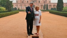 Stephen and Laureen Harper tour India