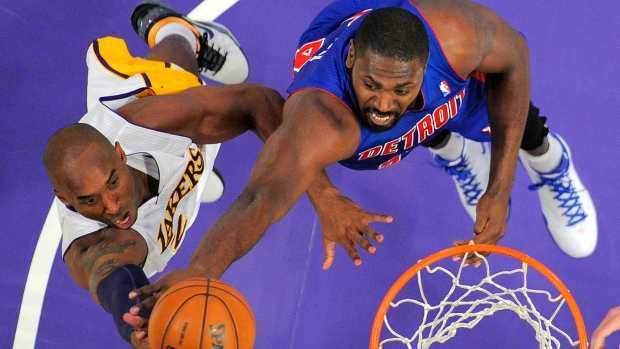 Lakers and Pistons