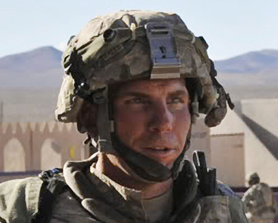 Army Staff Sgt. Robert Bales participates in an exercise at the National Training Center at Fort Irwin, Calif, Aug. 23, 2011 (Spc. Ryan Hallock / DVIDS)
