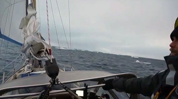 Peissel and two other crewmen successfully navigated a 31-foot fiberglass sailboat through the McClure Strait.