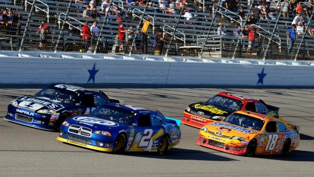 NASCAR Sprint Cup race in Texas, Nov. 4, 2012