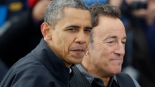 Springsteen Obama U.S. election