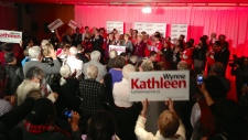Kathleen Wynne enters Liberal leadership race