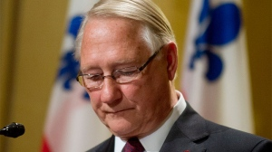 Gerald Tremblay resigns