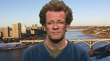Canadian author Yann Martel speaks with CTV's Powe