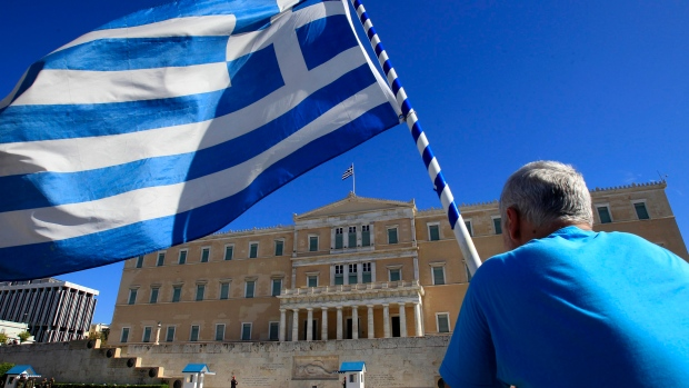 Greek Parliament in Athens on Nov. 6, 2012.