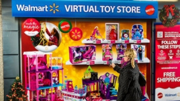 Walmart-Mattel virtual toy store