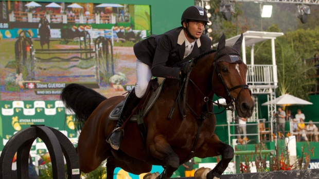 Steve Guerdat at the Athina Onassis horse show