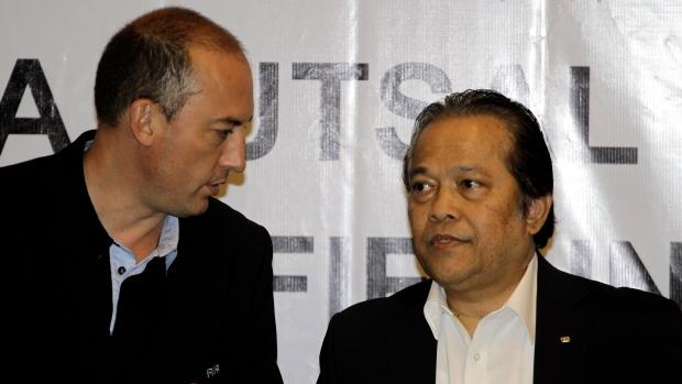 FIFA executive committee member Worawi Makudi