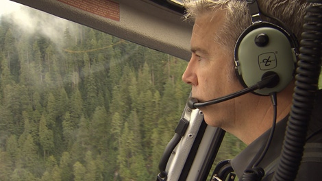 Helicopter pilot Peter Murray is receiving a national award for over 20 years of service in search and rescue missions in B.C.