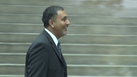 Dave Basi appears in B.C. Supreme Court in Vancouver, B.C., on Friday, Oct. 29, 2010. (CTV)