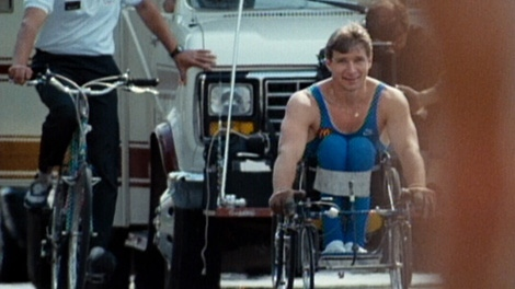 Twenty-five years ago, Canadian Rick Hansen inspired the world with this Man in Motion tour.