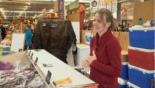 Larissa Helbig at the Strathcona Farmers Market