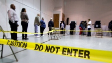 Problems reported with electronic voting machines
