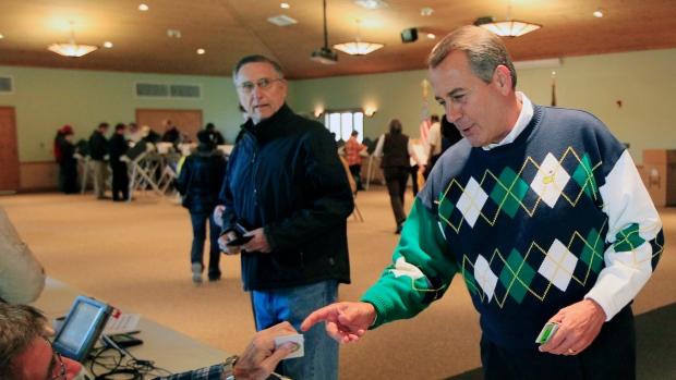 Speaker John Boehner, R-Ohi