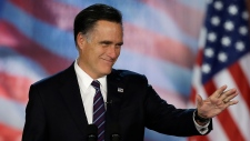 Mitt Romney gives concession speech