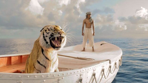 Suraj Sharma in a scene from 'Life of Pi.'