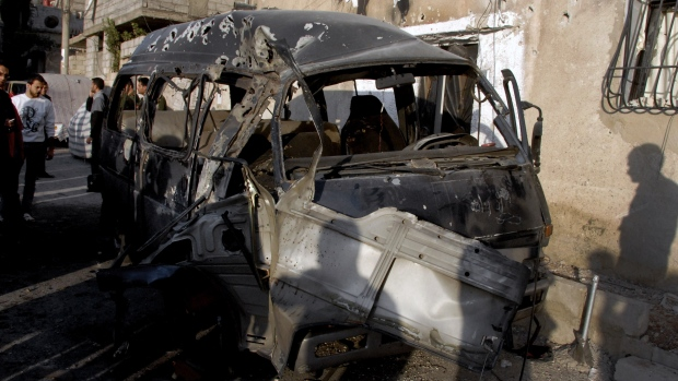 bomb kills judge in syria