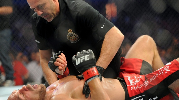 UFC referee in BC new training course