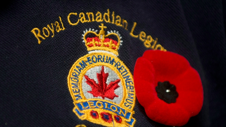 With Remembrance Day just days away, some of Canada's Royal Canadian Legions say low membership enrolment has had them scrambling to find volunteers for their annual poppy campaigns. (Graham Hughes/THE CANADIAN PRESS)