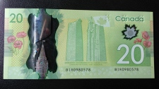 Bank of Canada's Polymer $20 bills
