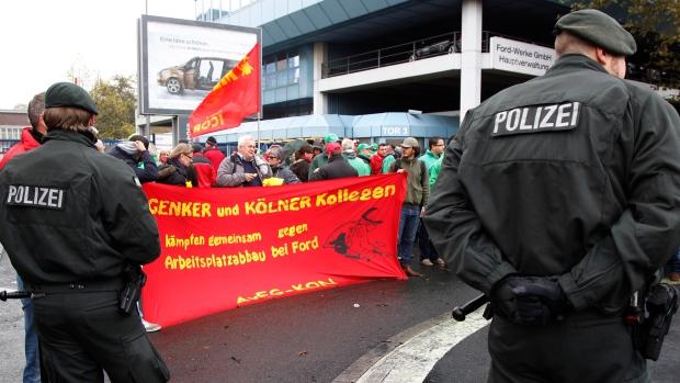 Ford plant in Cologne, Germany, Nov. 7, 2012.