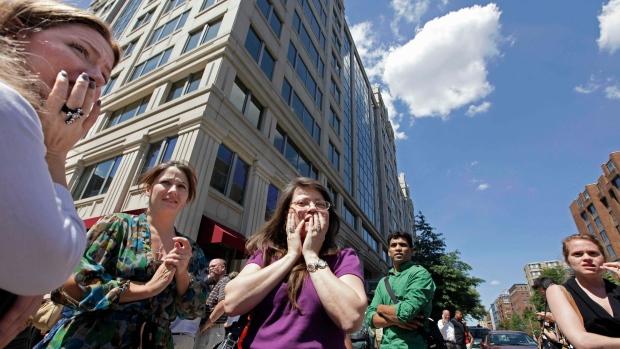 Washington, D.C. shakes on Aug. 23, 2012.