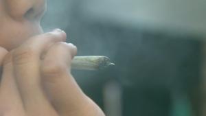 Marijuana pot joint