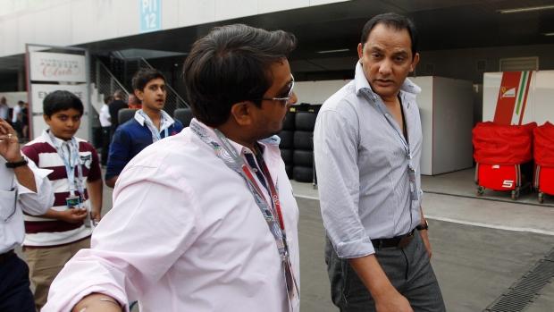 Former Indian cricket captain Mohammad Azharuddin