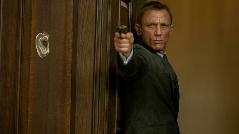 Daniel Craig as James Bond in Sony Pictures Canada's 'Skyfall'