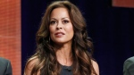 "TV host Brooke Burke-Charvet sits on the ""Dancing with the Stars: All Stars"" panel at the Disney ABC TCA Day 2 in Beverly Hills, Calif., July 27, 2012. (Todd Williamson, Invision)"