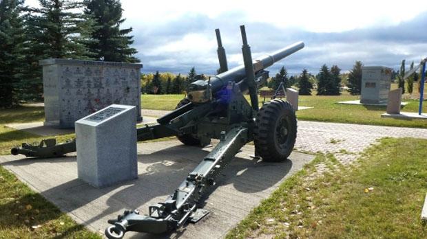 Howitzer memorial
