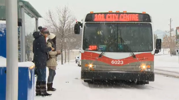Transit Users Prepare To Board A Route 101 Bus