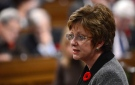Minister of Human Resources Diane Finley responds to a question during Question Period in the House of Commons on Parliament Hill in Ottawa on Thursday, November 1, 2012. (Sean Kilpatrick/THE CANADIAN PRESS)
