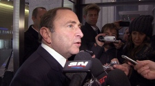 Gary Bettman talks about lockout