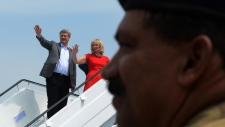 Stephen Harper in Phillipines