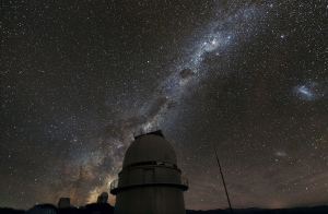 This 2011 handout photo provided by the European Southern Observatory, shows the Milky Way above the La Silla Observatory in Chile.  (Zdenek Bardon / ProjectSoft, European Southern Observatory)