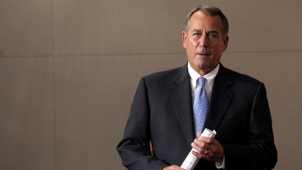 House Speaker John Boehner on fiscal cliff
