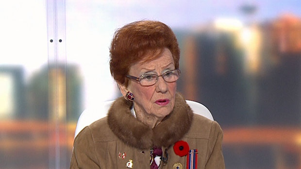 "Margarita ""Madge"" Trull appears on CTV News Channel on Friday, Nov. 9, 2012."