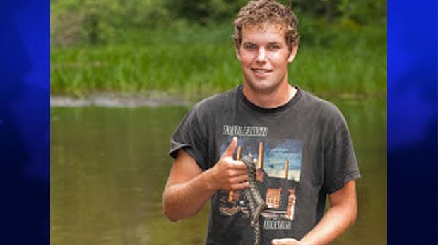 Josh Vandermeulen is shown in this photo from his blog. (Photo courtesy of http://joshvandermeulen.blogspot.ca/)