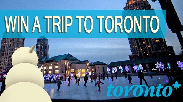 Win a trip to Toronto!