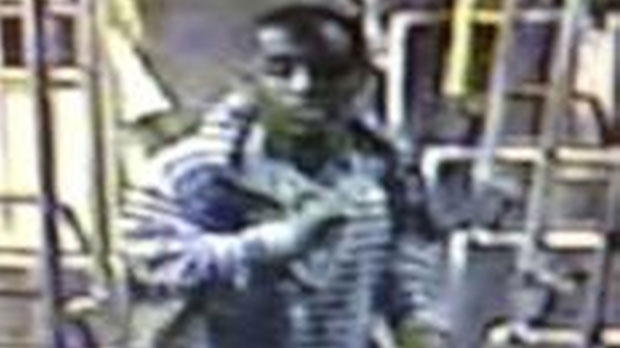 This image from video provided by the Los Angeles County Sheriff's Department shows a suspect officials say is accused of raping a mentally disabled woman on a city bus. (Los Angeles County Sheriff's Department)