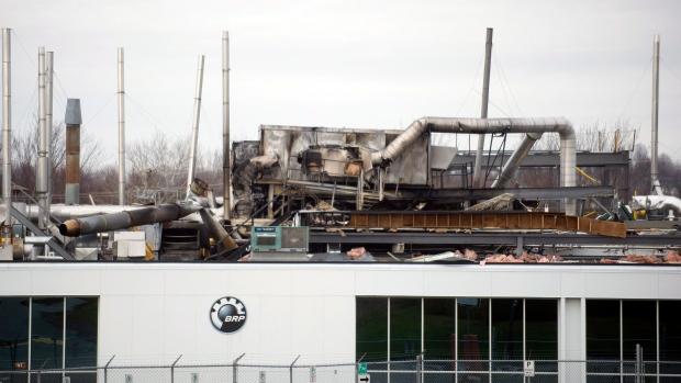 Quebec Bombardier plant explosion